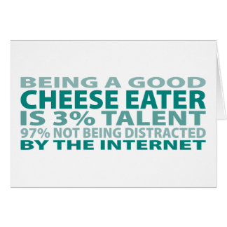 Cheese Eater 3% Talent Card
