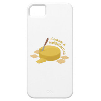 Cheese Elegance iPhone 5 Covers