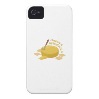 Cheese Elegance iPhone 4 Case-Mate Case