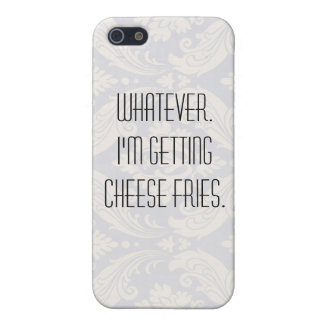 Cheese fries. iPhone SE/5/5s cover