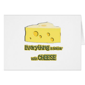 cheese goes with everything card