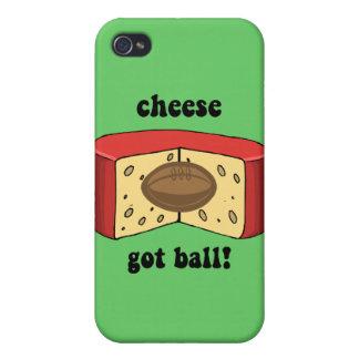 cheese got ball iPhone 4/4S case