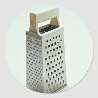 Cheese grater for Kitchen Classic Round Sticker