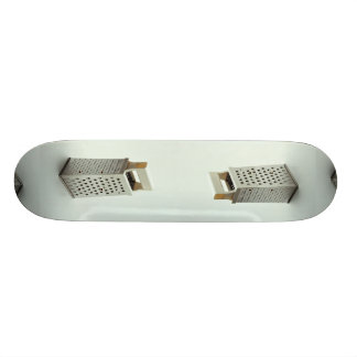 Cheese grater for Kitchen Skateboard Deck