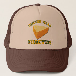 Cheese Head Forever Trucker Hat