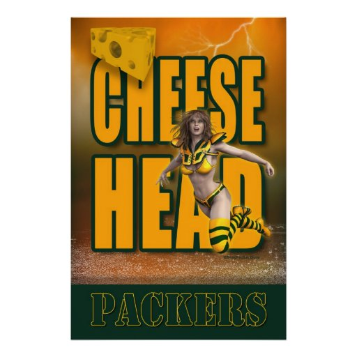 Cheese Head Poster