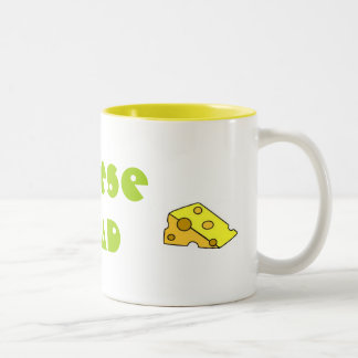 CHEESE HEAD Two-Tone COFFEE MUG