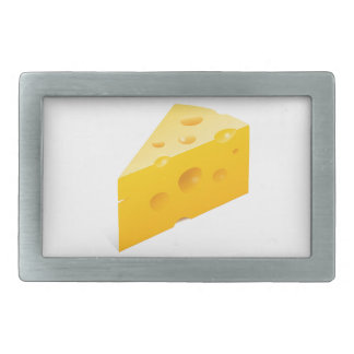 Cheese Illustration Rectangular Belt Buckle