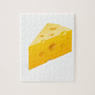 Cheese Illustration Jigsaw Puzzle