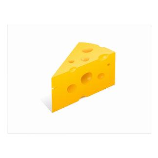 Cheese Illustration Postcard