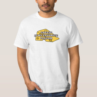 cheese is my favorite flavor food T-Shirt