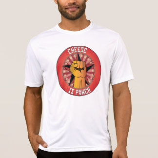 Cheese Is Power Tshirts
