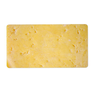 Cheese Shipping Label