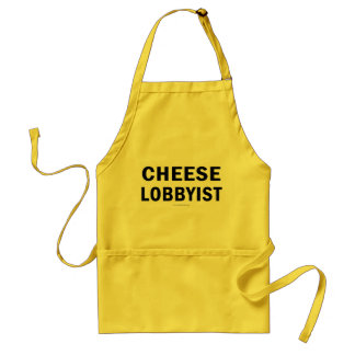 Cheese Lobbyist... Adult Apron