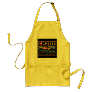 Cheese Lovers Adult Apron