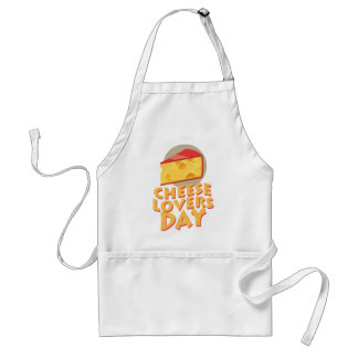 Cheese Lovers Day - Appreciation Day Adult Apron