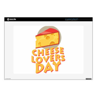 Cheese Lovers Day - Appreciation Day Laptop Decals