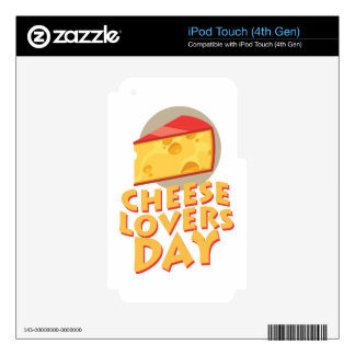 Cheese Lovers Day - Appreciation Day Skin For iPod Touch 4G