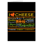 Cheese Lovers Greeting Card