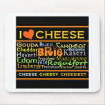 Cheese Lovers Mouse Pad