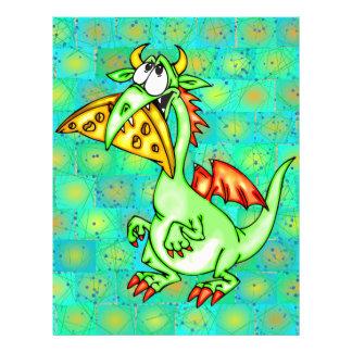 "Cheese Loving Dragon 8.5"" X 11"" Flyer"
