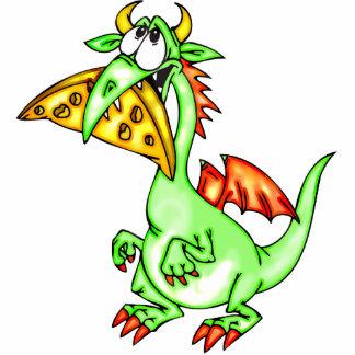 Cheese Loving Dragon Cutout