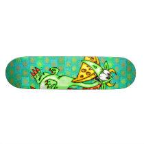 Cheese Loving Dragon Skateboard Deck