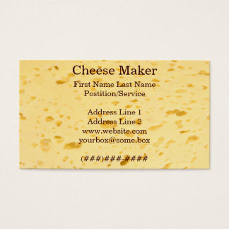 Cheese Maker Business Card