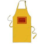 Cheese Maker Vintage Kitchen Art Long Apron