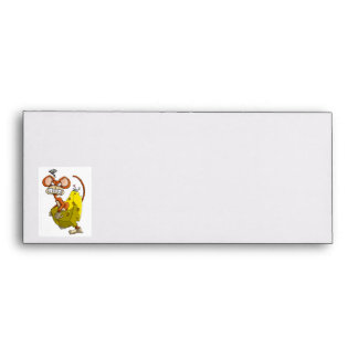 Cheese Monkey Envelope