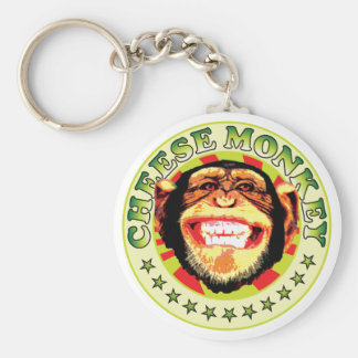 Cheese Monkey Keychain