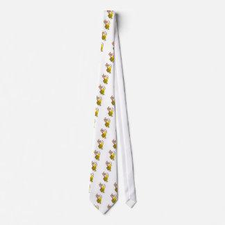 Cheese Monkey Neck Tie