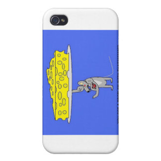 cheese moving mouse iPhone 4/4S cover