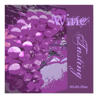 Cheese n wine celebration party CUSTOMIZE Card