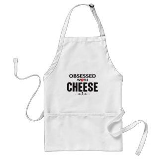 Cheese Obsessed Adult Apron