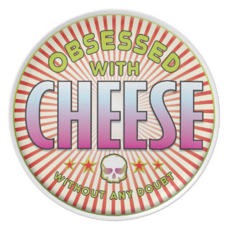 Cheese Obsessed R Dinner Plate