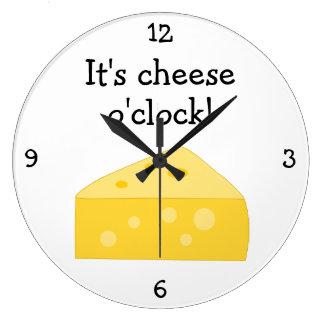 Cheese O'Clock fun food graphic
