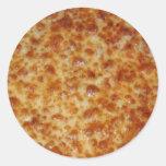 Cheese Pizza Classic Round Sticker