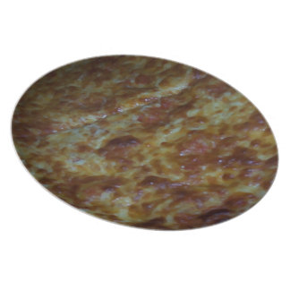 Cheese Pizza Dinner Plate