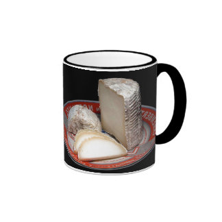 Cheese Platter - Soft  Cheese for Cheese lovers Ringer Coffee Mug