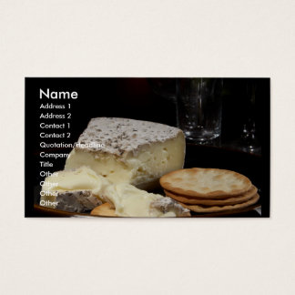 Cheese Please Business Card