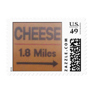 Cheese Postage Stamp