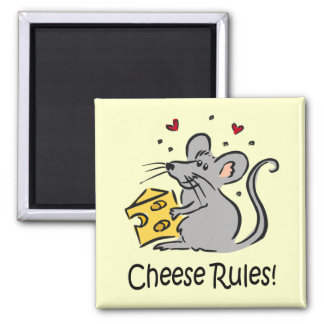 Cheese Rules magnet