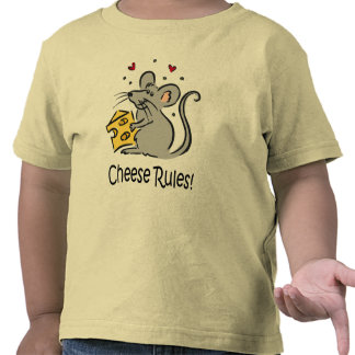 Cheese Rules t-shirt