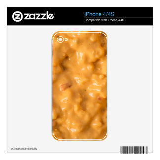 Cheese Sauce Skins For iPhone 4
