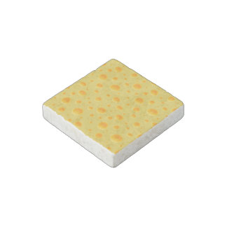 Cheese Section Stone Magnet