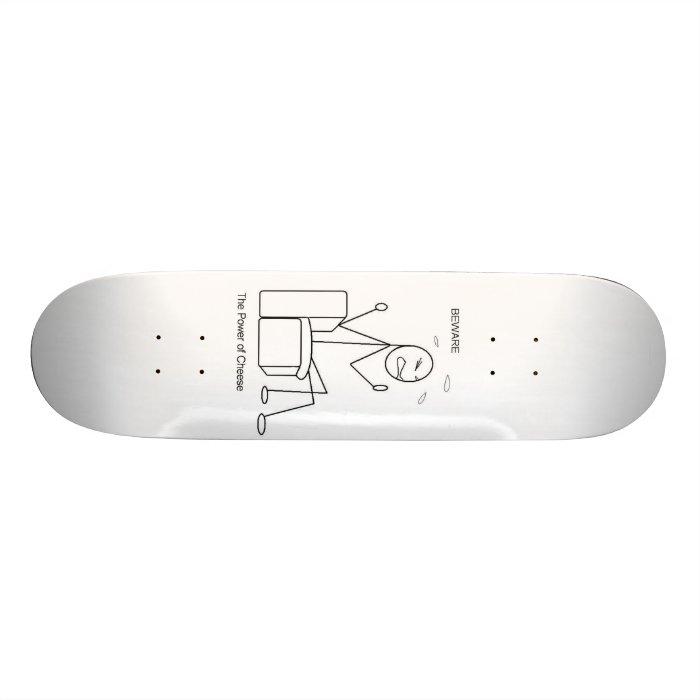 cheese skateboard