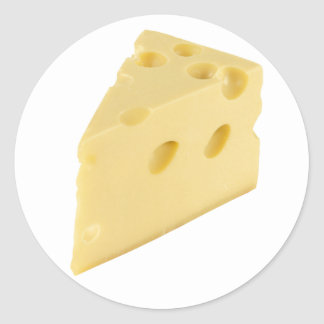 Cheese Slice Stickers