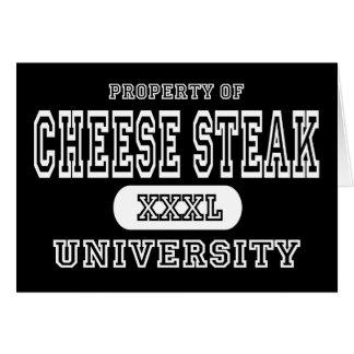 Cheese Steak University Dark Card