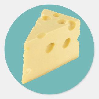Cheese Round Sticker
